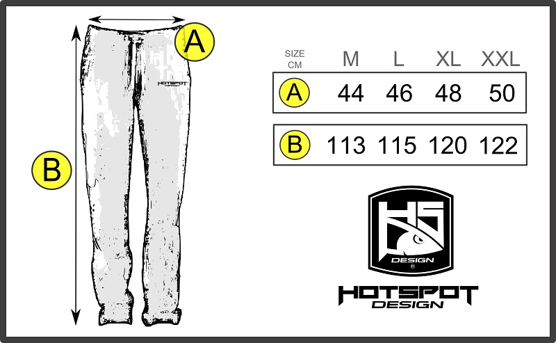 pants chart