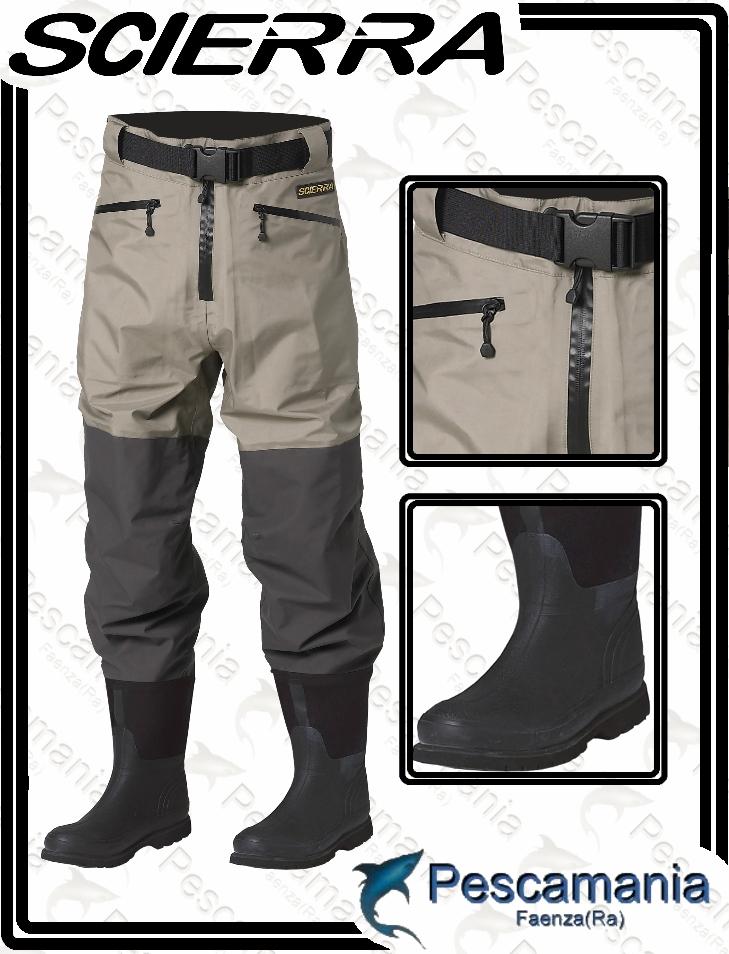 Pantalone Con Waist Cc3 Breathable Scierra Wader A Traspirante 6RZyqS