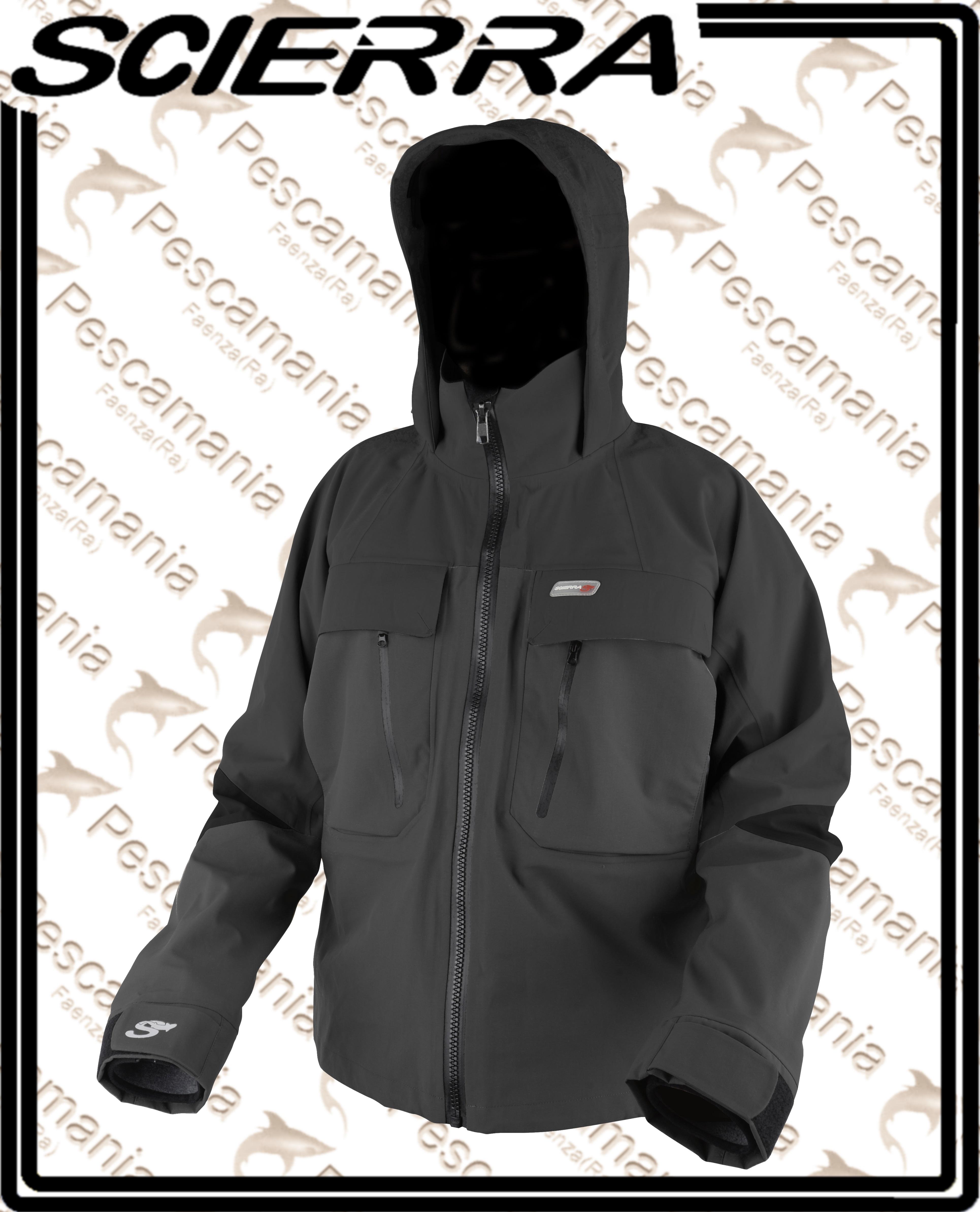 dd7fcba3c4c8a4 Scierra C&R wading jacket giacca tecnica traspirante impermeabile ...